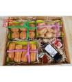 Caja regalo dulces artesanos y licor