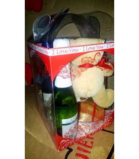 Caja regalo 2-embutidos, queso, roscos, encurtidos, paté