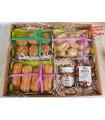 Caja regalo dulces artesanos, miel y caramelos