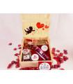 Caja San Valentín: Fresas con chocolate