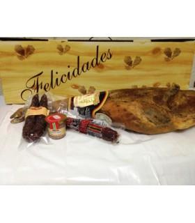 Lote Jamón Reserva y Delicias de Monte