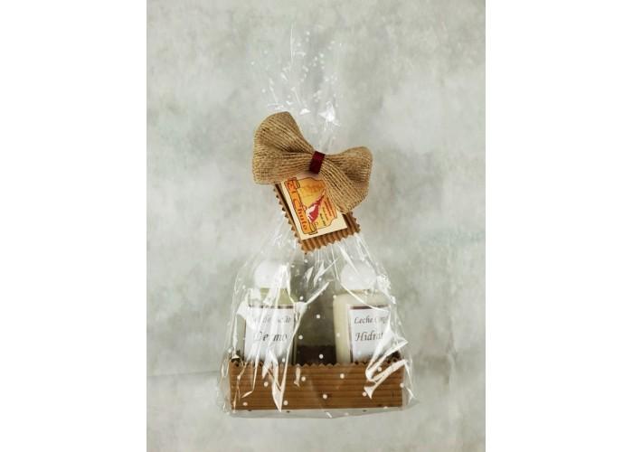 Detalle San Valentin: licor chocolate, tableta chocholate xxl