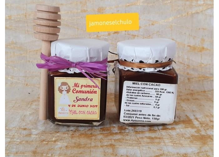 Cesta regalo Felicidades: queso, miel, mermelada, salchichón, lomo, chocolate