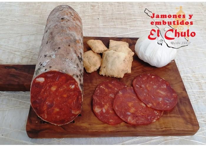 Aceitunas del cortijo, gazpacha, sin hueso, sabor anchoa