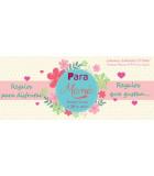 Caja regalo, kits Dia de la madre chocolates, cosmética natural